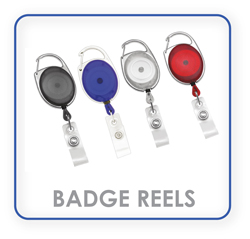 Retractable Badge Reels, Holder, Clips, ID, Name Badge, keyring, Keychain and Key Reel Supplies.