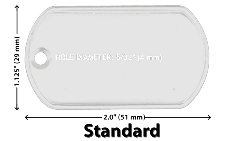 Wholesale 10 25 50 100 Blank Dog Tag Stainless Steel
